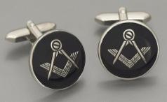 1834 Mason's cufflink